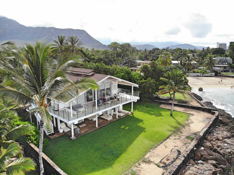 【夏威夷-Oahu】歐胡島Airbnb住宿推薦,海景彩虹純白別墅,美到不想離開