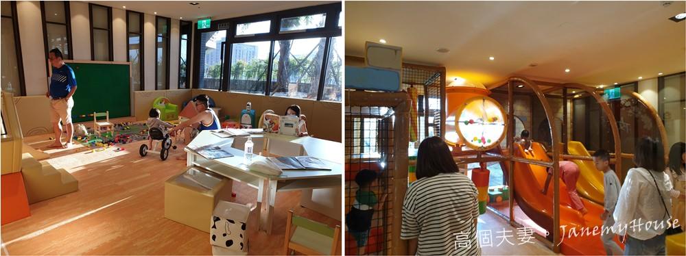 宜蘭羅東親子住宿推薦村却國際溫泉酒店兒童遊戲室