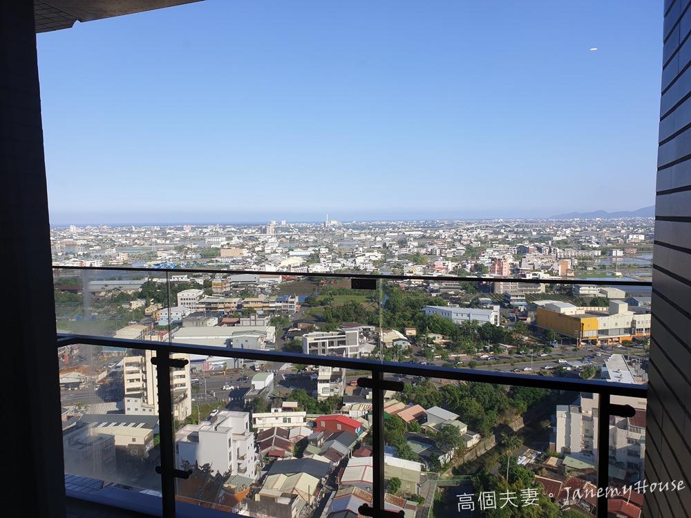 宜蘭羅東親子住宿推薦村却國際溫泉酒店房間高空景致