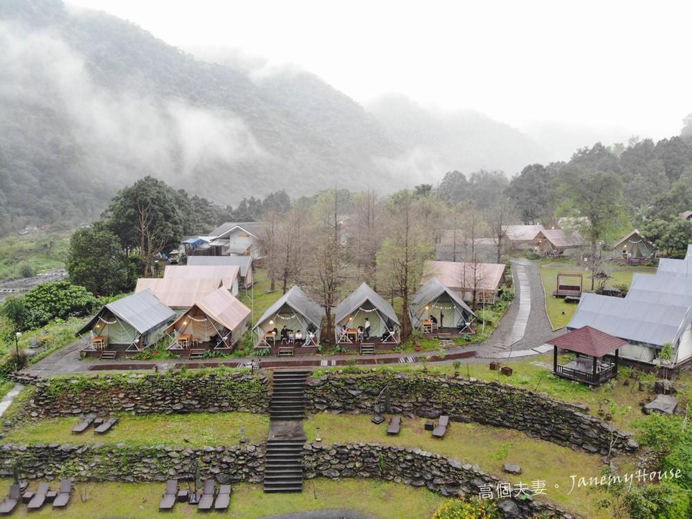 豪華露營Glamping – 那一村:宜蘭礁溪山林秘境,煙霧飄渺、山湖水色的親密接觸