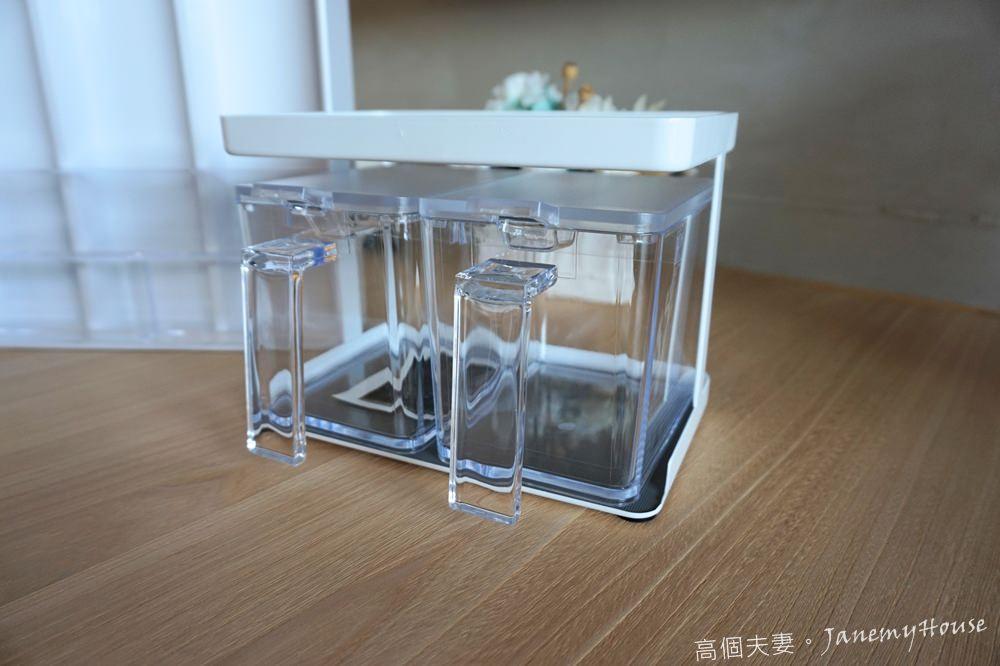 日本山崎Yamazaki - Tower調味料架-附盒S(白)