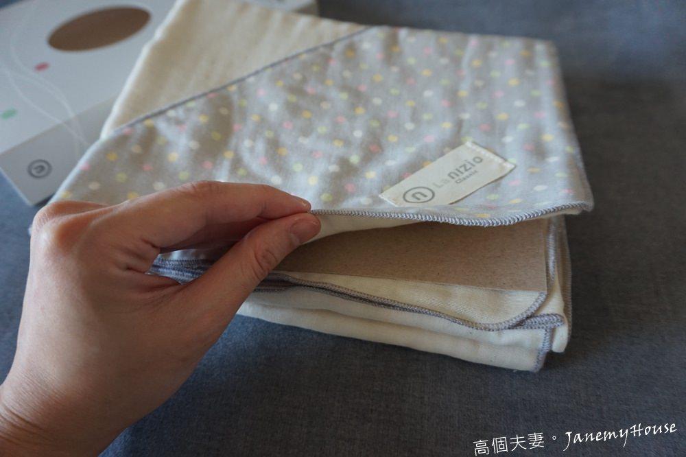 嬰兒浴巾推薦 - Nizio跳跳糖四層紗浴包巾