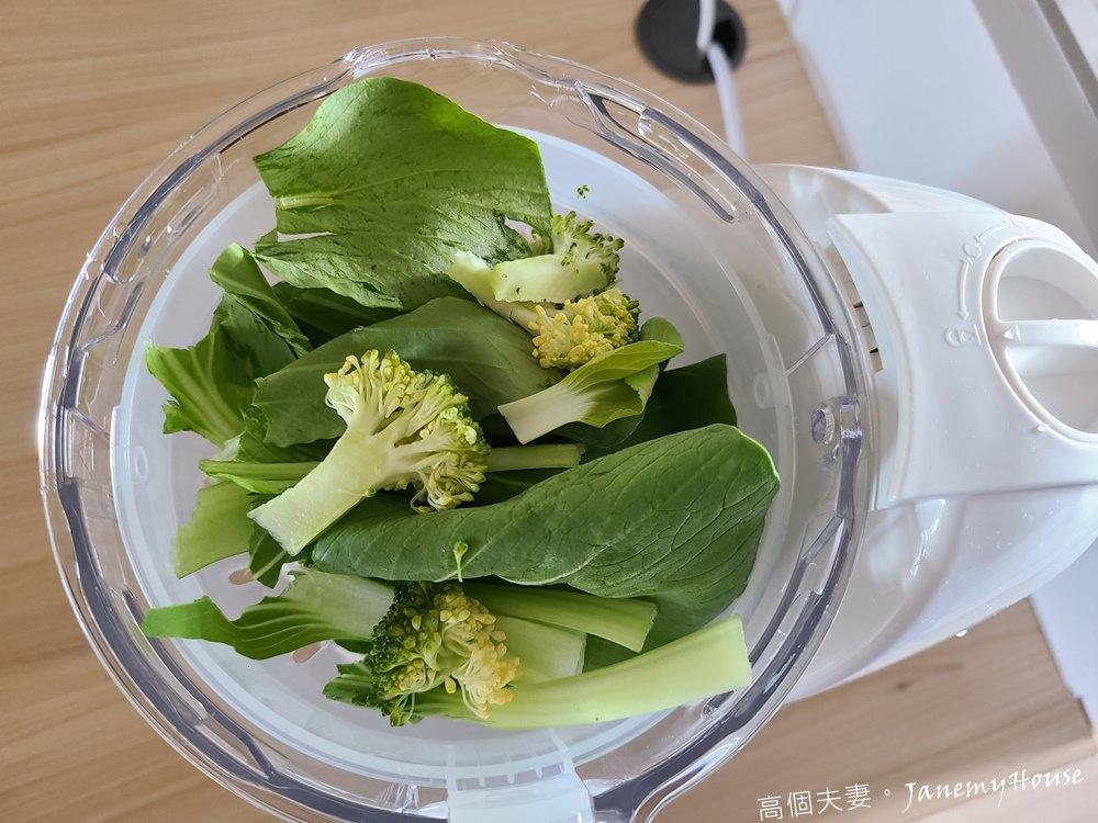 青江菜花椰菜泥