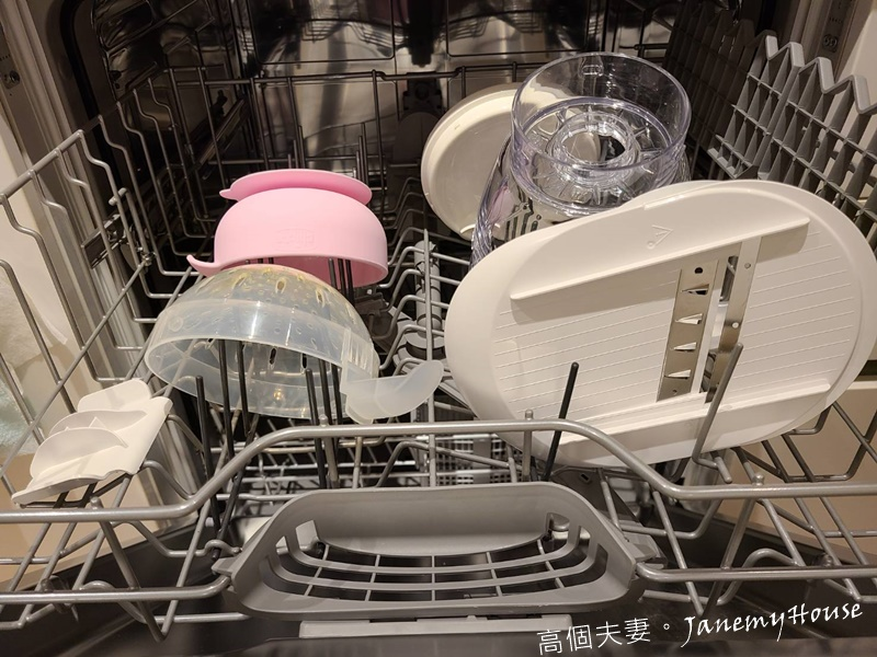 Chicco食物調理機洗碗機清洗