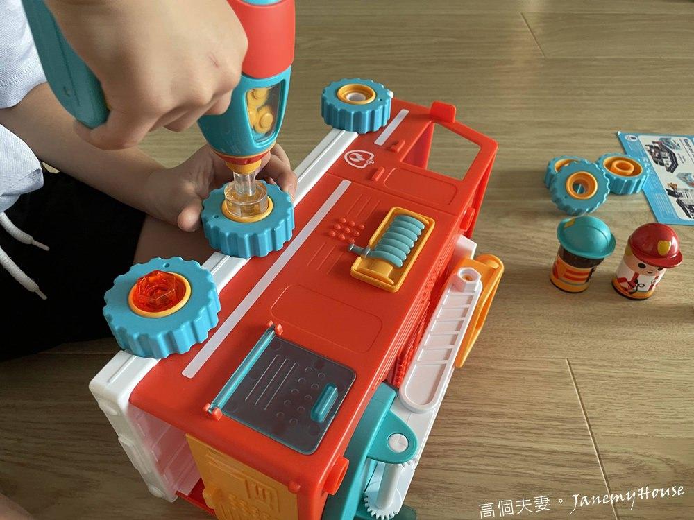 Design & Drill天才工程師電鑽工具 – 最新款雲梯消防車